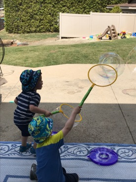 Bubbles for hours
